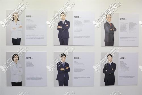 韩国棒棒BONGBONG整形外科医院医生团队